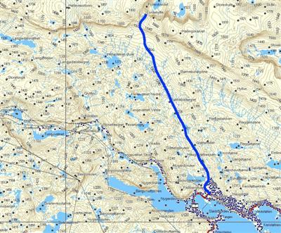 skarverennet kart Fotturer skarverennet kart